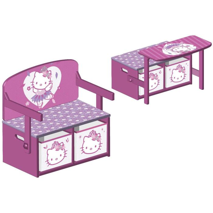 bureau pour fille hello kitty visuel 8. Black Bedroom Furniture Sets. Home Design Ideas