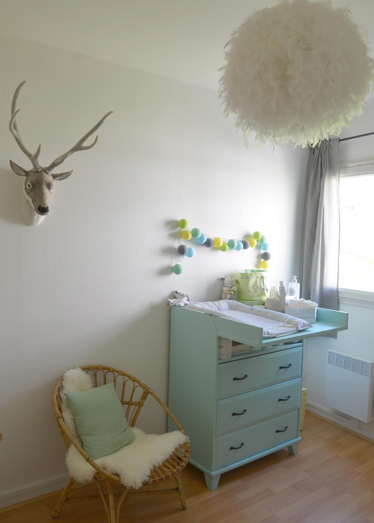 Chambre bebe deco nature - Decoration chambre nature ...
