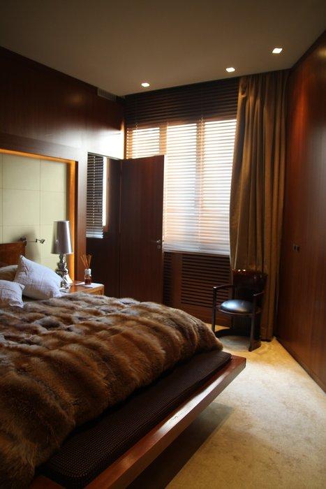chambre deco marron beige - visuel #5