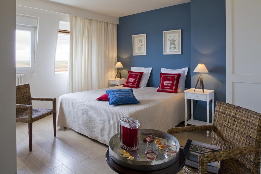 elegant chambre bleu marine et blanc with chambre deco marine