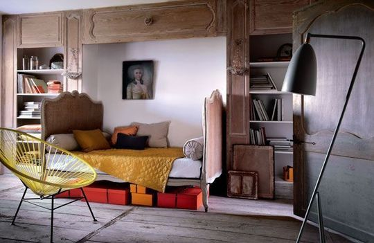 Chambre Decoration Vintage Visuel 5