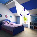 deco chambre 3 couleurs