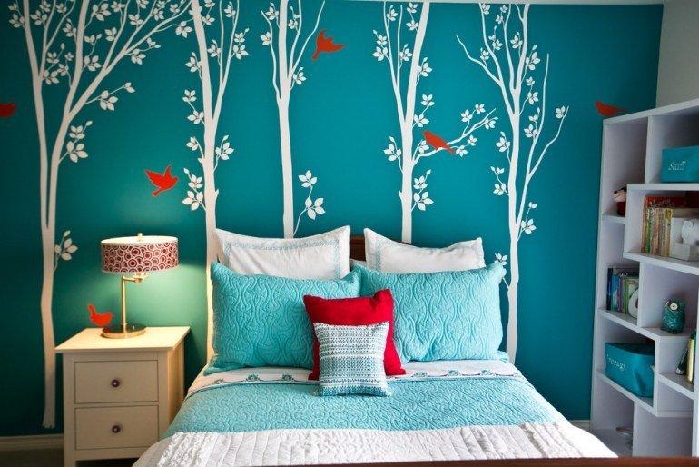 Chambre Ado Bleu Turquoise
