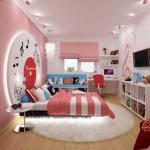 deco chambre ado fille rose