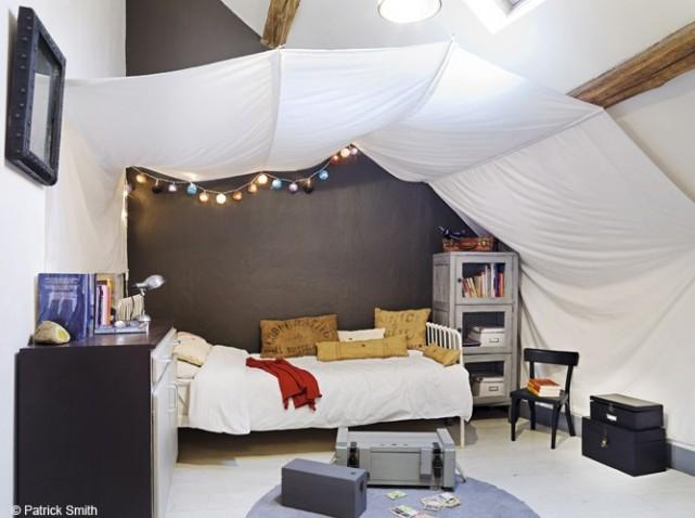 deco chambre ado sous toit