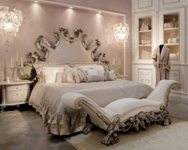 deco chambre baroque. Black Bedroom Furniture Sets. Home Design Ideas