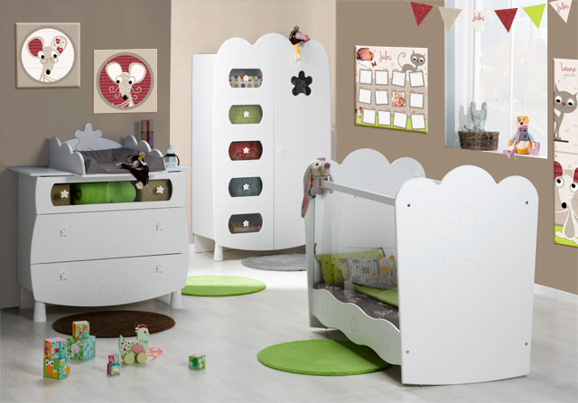 deco chambre bebe chat visuel 5. Black Bedroom Furniture Sets. Home Design Ideas