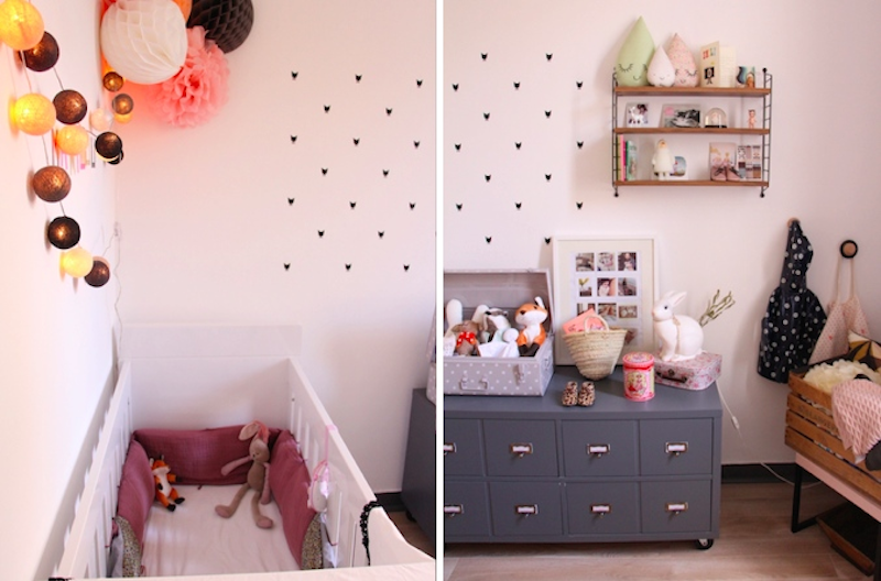 deco chambre bebe chat. Black Bedroom Furniture Sets. Home Design Ideas