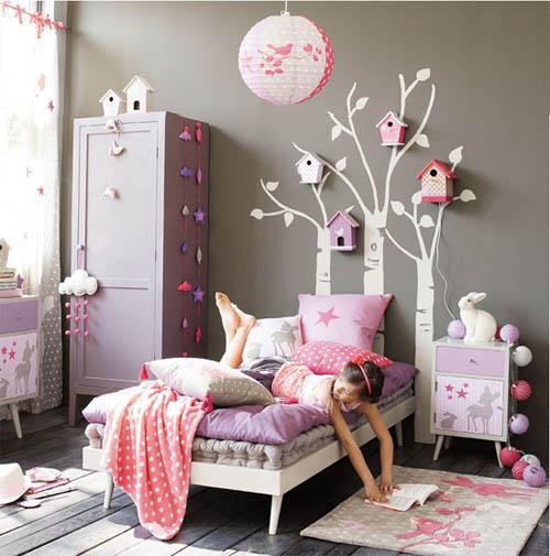 deco chambre bebe fille parme - visuel #5