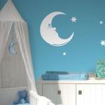 deco chambre bebe lune