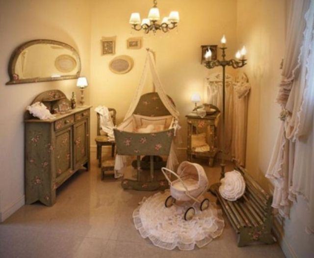 Chambre De Bebe Romantique