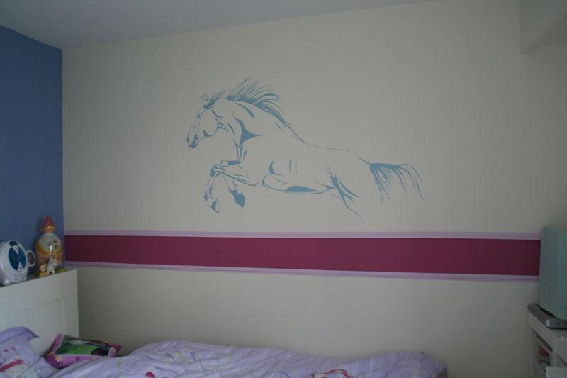 Deco chambre fille avec chevaux - Deco chambre fillette ...