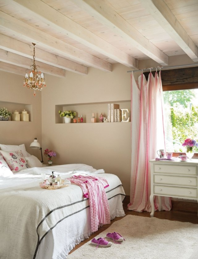 Awesome Deco Chambre Romantique Rose Contemporary - Yourmentor ...