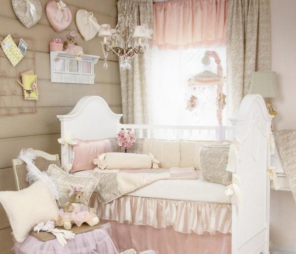 deco chambre romantique rose - visuel #7