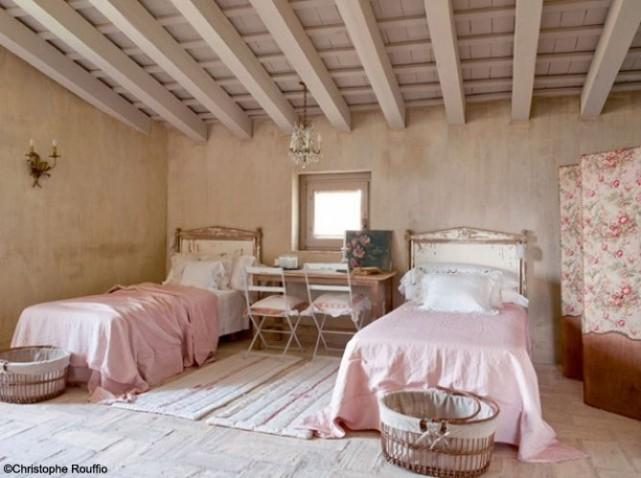 Awesome Deco Chambre Romantique Rose Contemporary - Seiunkel.us ...