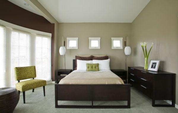deco de chambre vert et marron - visuel #5