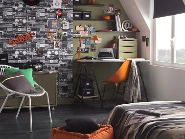 Decoration chambre ado style urbain visuel 4 - Idee deco chambre garcon ado ...