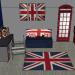decoration chambre anglaise
