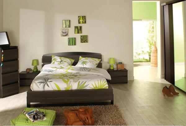 decoration chambre coucher adulte - visuel #7