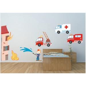 Decoration chambre garcon pompier visuel 4 - Chambre garcon pompier ...