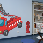 Decoration chambre garcon pompier - Chambre garcon pompier ...