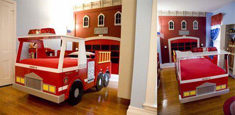 Decoration chambre garcon pompier visuel 7 - Chambre garcon pompier ...