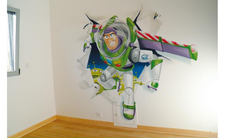 decoration chambre garcon toy story - visuel #6