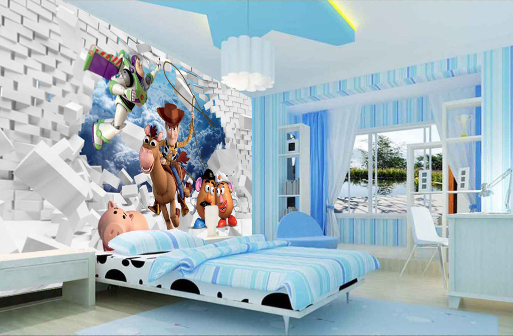 decoration chambre garcon toy story visuel 7. Black Bedroom Furniture Sets. Home Design Ideas