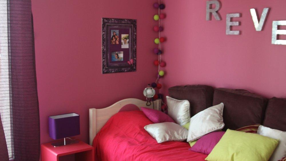 decoration chambre rose fuchsia - visuel #6