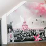 decoration pour chambre theme paris