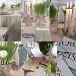 decoration table communion faire soi meme