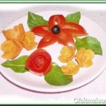 faire decoration avec legumes