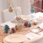 faire decoration de table pour noel