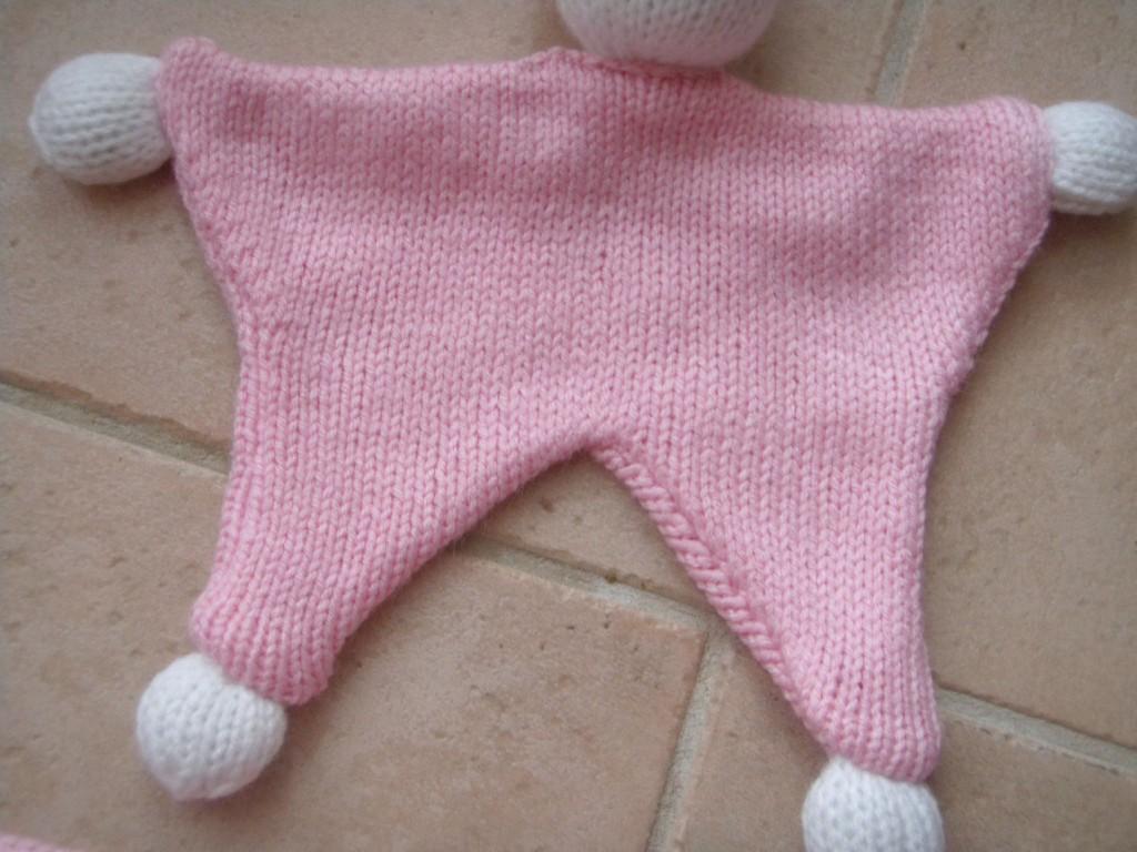 Faire doudou en tricot visuel 9 - Creer un doudou pour bebe ...