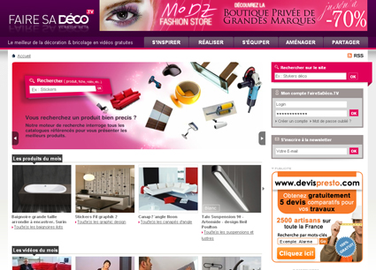 Faire sa decoration en ligne for Decoration en ligne
