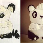faire un doudou a partir d un dessin