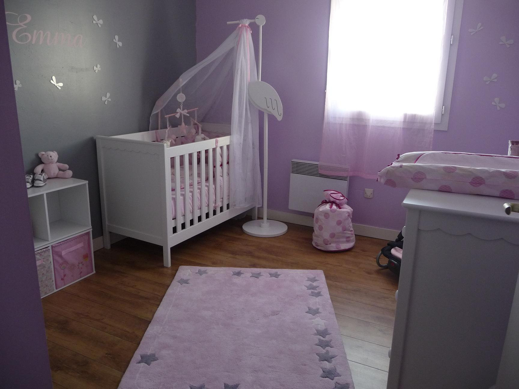 Idee couleur chambre bebe fille - Idees couleur chambre ...