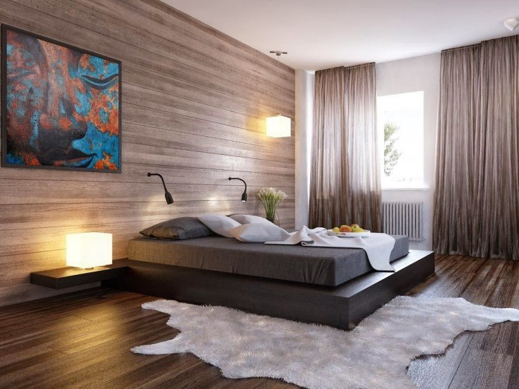 idee de decoration de chambre a coucher adulte visuel 2. Black Bedroom Furniture Sets. Home Design Ideas