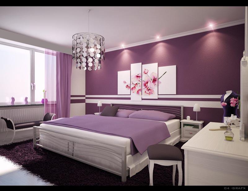 idee de decoration de chambre a coucher adulte - visuel #5
