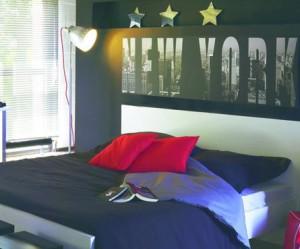 idee deco chambre ado theme new york