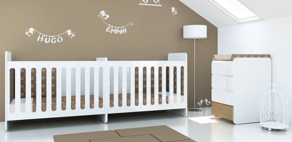 lit pour bebe jumeaux - visuel #3