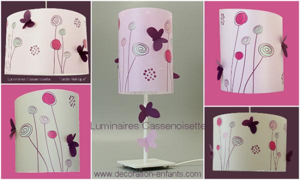 Luminaire bebe fille papillon - Deco chambre bebe fille papillon ...