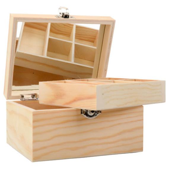 boite a bijoux en bois a decorer. Black Bedroom Furniture Sets. Home Design Ideas