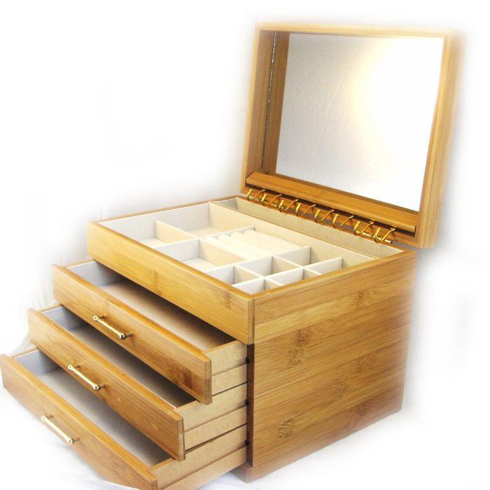 boite a bijoux bois brut visuel 7. Black Bedroom Furniture Sets. Home Design Ideas