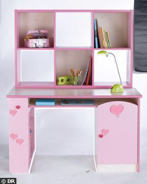 bureau petite fille 6 ans visuel 8. Black Bedroom Furniture Sets. Home Design Ideas
