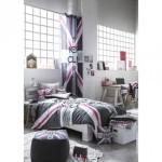 deco chambre ado drapeau anglais