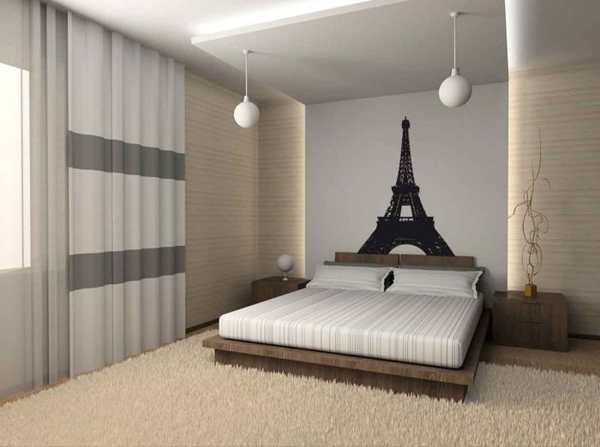 deco chambre ado theme paris