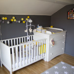 chambre bebe mansardee