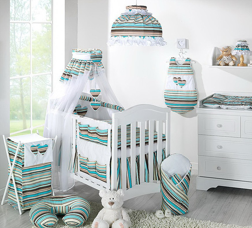 Awesome Decoration Turquoise Chambre Bebe Contemporary ...