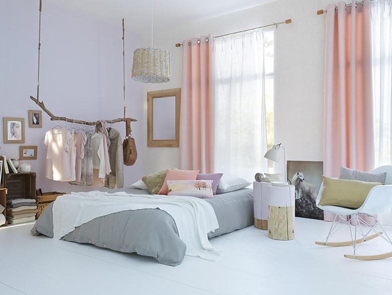 Deco rideau chambre for Rideau court chambre
